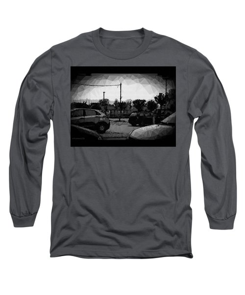 Long Sleeve T-Shirt featuring the photograph Parking by Mimulux patricia no No