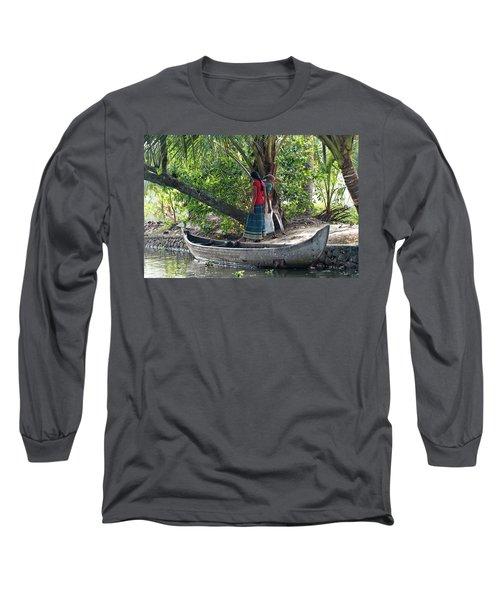 Long Sleeve T-Shirt featuring the photograph Parking Spot by Marion Galt