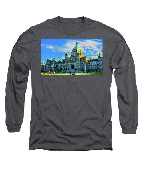 Parliament Victoria Bc Long Sleeve T-Shirt