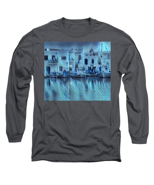 Paros Island Beauty Greece Long Sleeve T-Shirt