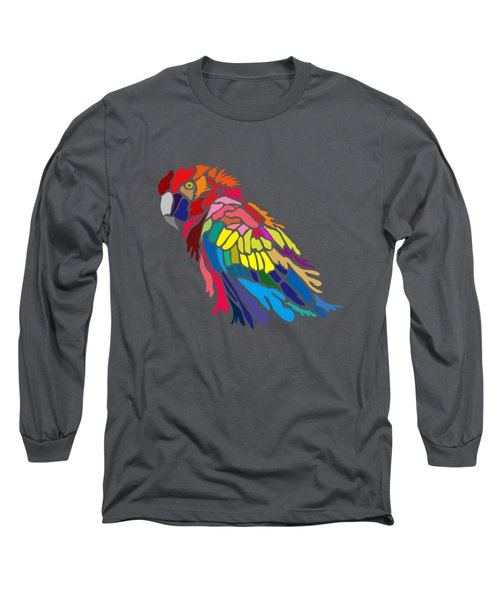Parrot Beauty Long Sleeve T-Shirt by Anthony Mwangi