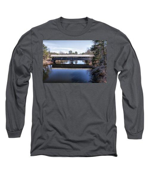 Parsonfield Porter Covered Bridge Long Sleeve T-Shirt