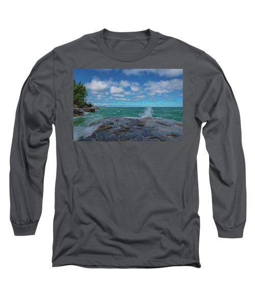Partly Sunny Long Sleeve T-Shirt