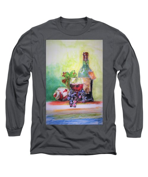 Party Arrangement Long Sleeve T-Shirt