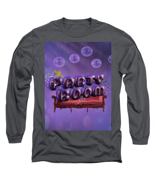 Party Room Long Sleeve T-Shirt by La Reve Design