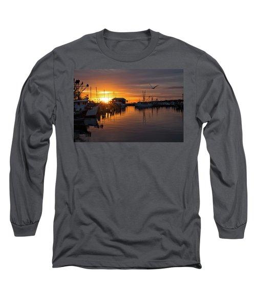 Pass Sunset Long Sleeve T-Shirt