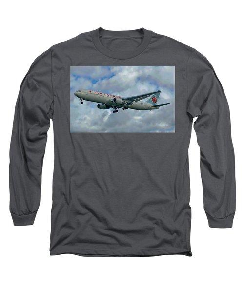 Passenger Jet Plane Long Sleeve T-Shirt