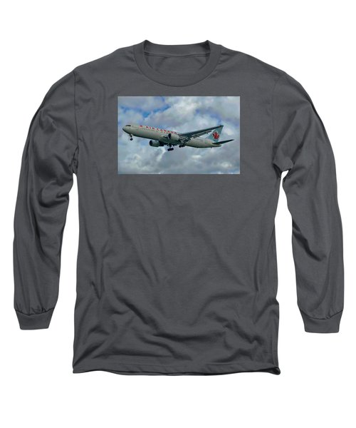 Passenger Jet Plane Long Sleeve T-Shirt