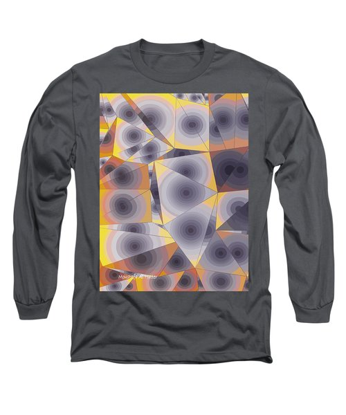 Passionflowers Long Sleeve T-Shirt by Moustafa Al Hatter