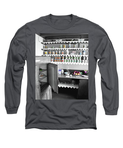 Long Sleeve T-Shirt featuring the photograph Past In The Present by Greg Fortier
