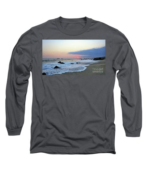 Long Sleeve T-Shirt featuring the photograph Pastel Blue by Victor K