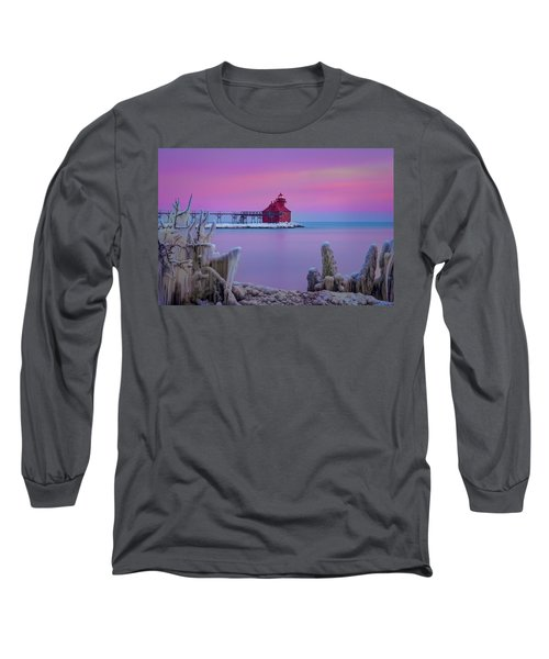 Pastel Lighthouse Long Sleeve T-Shirt