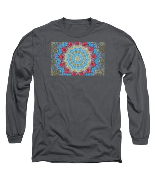 Long Sleeve T-Shirt featuring the photograph Pastel Medallion 2 by Shirley Moravec
