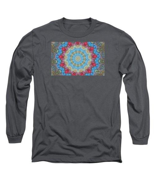 Pastel Medallion 2 Long Sleeve T-Shirt