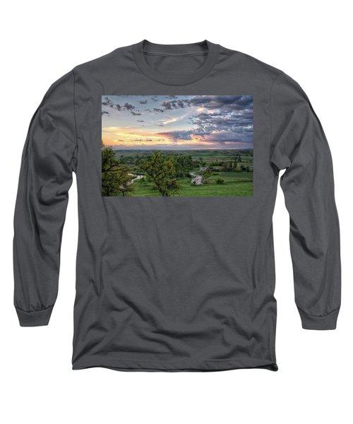 Pastel Spring Morning Long Sleeve T-Shirt