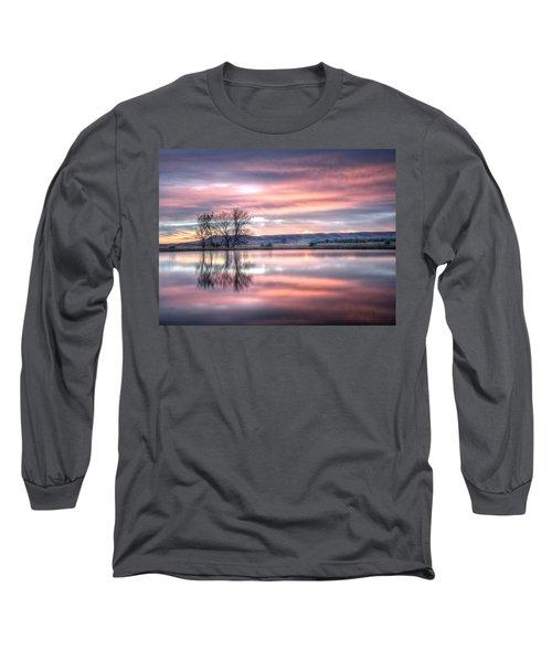 Pastel Sunrise Long Sleeve T-Shirt
