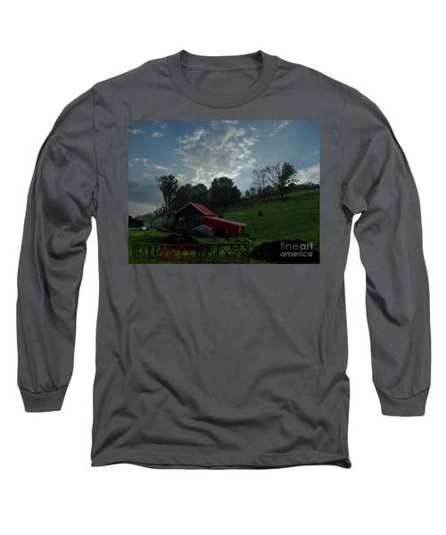 Pasture Under Elements Long Sleeve T-Shirt