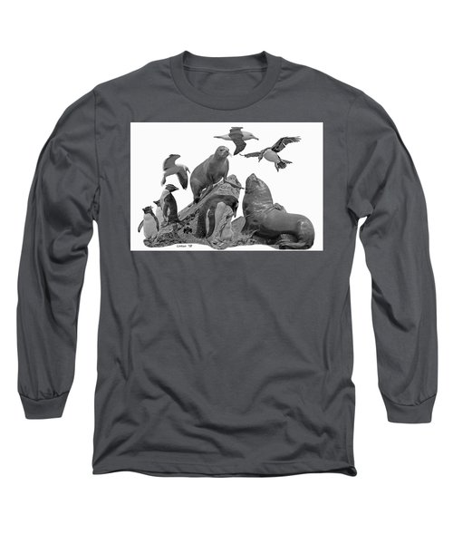 Patagonian Wildlife Long Sleeve T-Shirt