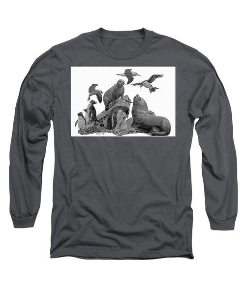 Patagonian Wildlife Long Sleeve T-Shirt
