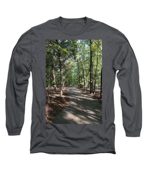 Path Around Lake Long Sleeve T-Shirt