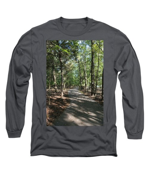 Path Around Lake Long Sleeve T-Shirt