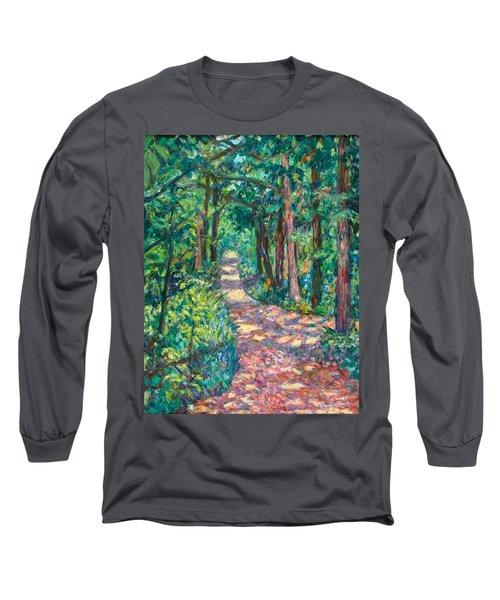 Path On Sharp Top Long Sleeve T-Shirt