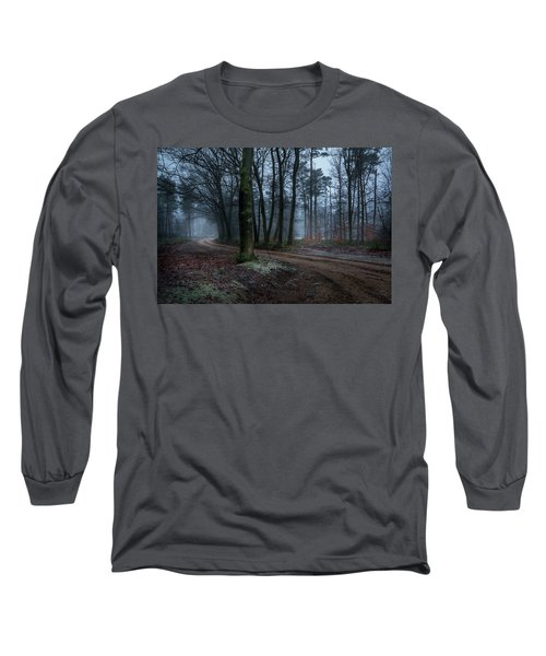 Path Through The Forrest Long Sleeve T-Shirt