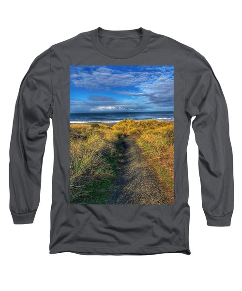 Path To The Beach Long Sleeve T-Shirt