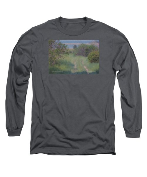 Path To The Sea - Duxbury Ma Long Sleeve T-Shirt