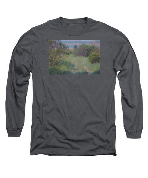 Path To The Sea - Duxbury Ma Long Sleeve T-Shirt