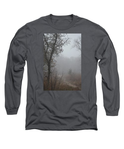 Long Sleeve T-Shirt featuring the photograph Pathway In The Fogs Of Life by Carolina Liechtenstein