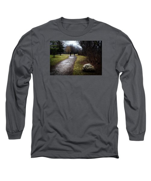 Pathway To Nowhere Long Sleeve T-Shirt by Celso Bressan
