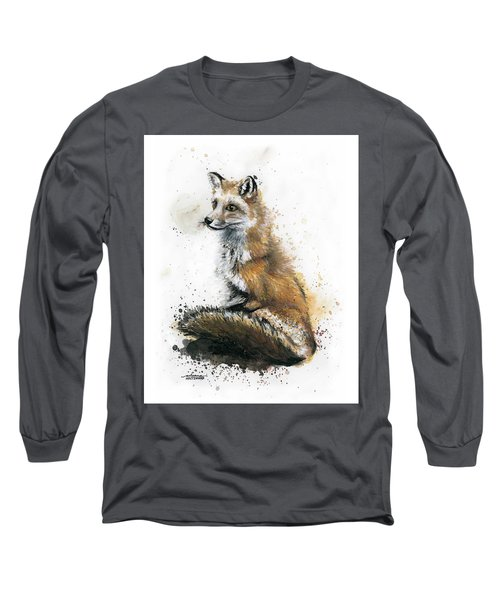Patiently Waiting Long Sleeve T-Shirt by Arleana Holtzmann
