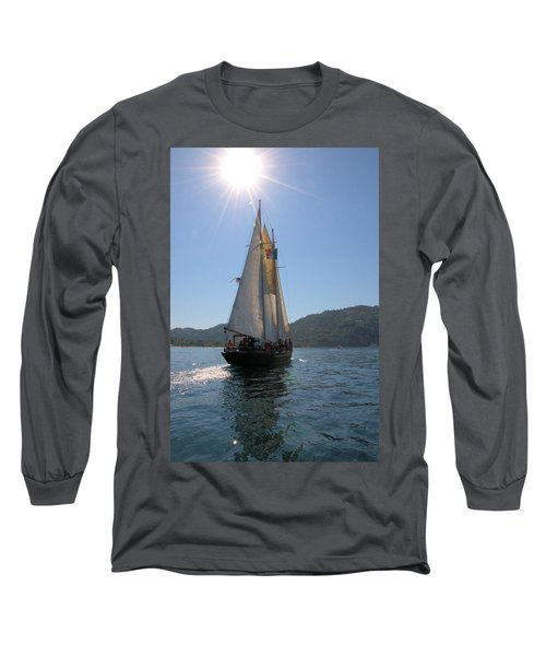 Patricia Belle 03 Long Sleeve T-Shirt by Jim Walls PhotoArtist