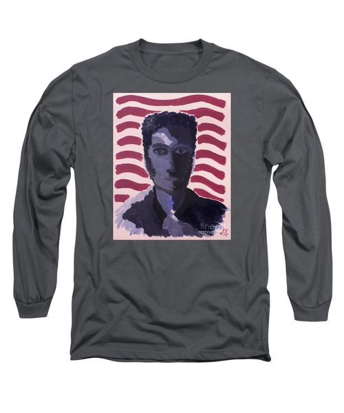 Patriotic 2002 Long Sleeve T-Shirt by Joseph A Langley