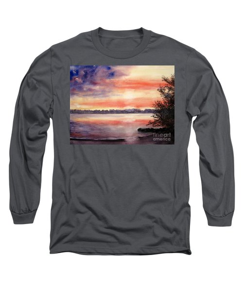 Patriotic Windjammer Sky Long Sleeve T-Shirt