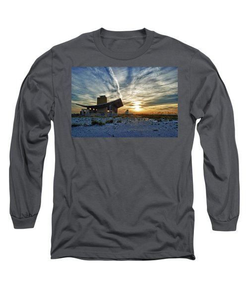 Pavillion And The Beach Long Sleeve T-Shirt