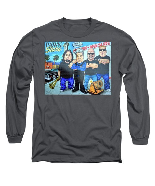 Pawn Stars In Las Vegas Long Sleeve T-Shirt
