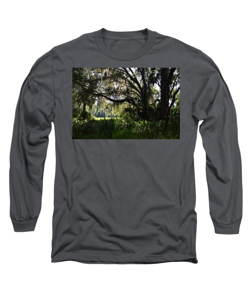 Paynes Prairie Border Long Sleeve T-Shirt