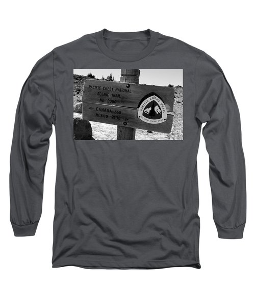 Pct Scenic Trail Long Sleeve T-Shirt