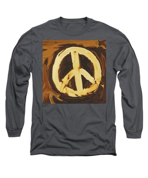 Peace 2 Long Sleeve T-Shirt by Rabi Khan