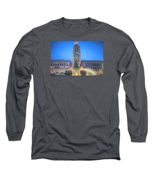 Long Sleeve T-Shirt featuring the photograph Peace Arising From The Flames Of War by Brent Durken