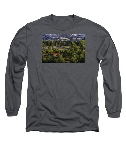 Peace In The Valley Long Sleeve T-Shirt by Elizabeth Eldridge