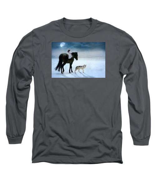 Long Sleeve T-Shirt featuring the digital art Peace On Earth by Dorota Kudyba