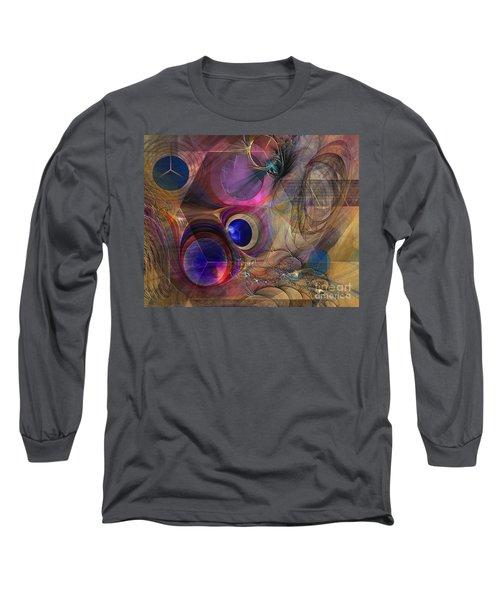 Peace Will Come Long Sleeve T-Shirt by John Robert Beck