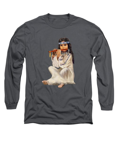 Peace With Harmony Long Sleeve T-Shirt by Glenn Holbrook