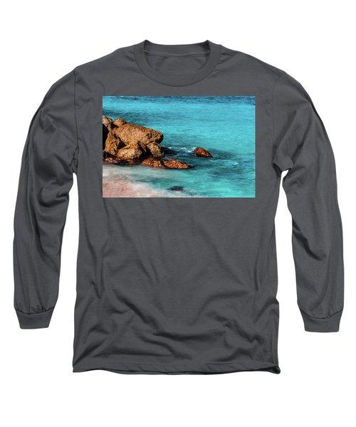 Peaceful Beach Long Sleeve T-Shirt