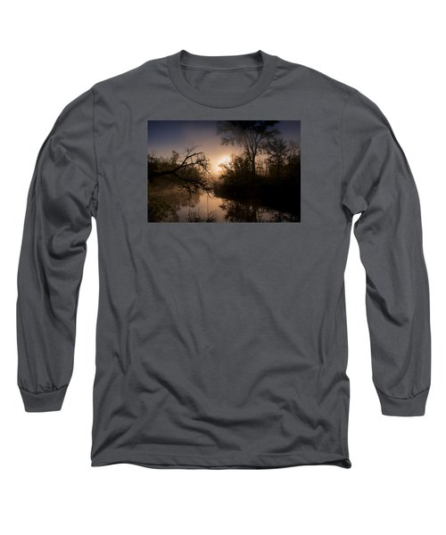Long Sleeve T-Shirt featuring the photograph Peaceful Calm by Annette Berglund