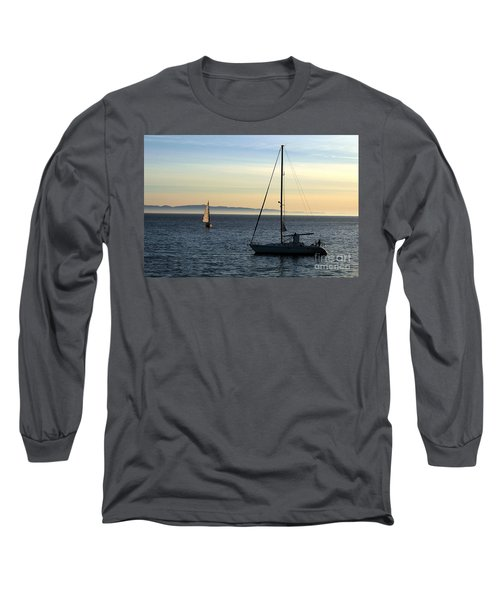 Peaceful Day In Santa Barbara Long Sleeve T-Shirt