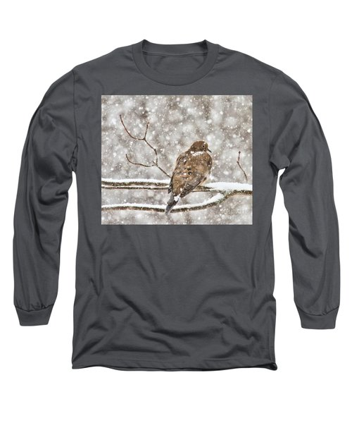 Long Sleeve T-Shirt featuring the photograph Peaceful by Debbie Stahre